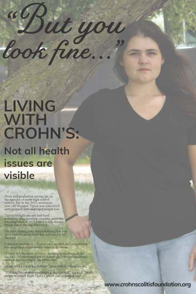Same text as blog post, in poster format with background image of woman, hand in pocket, looking in the camera, with neutral expression