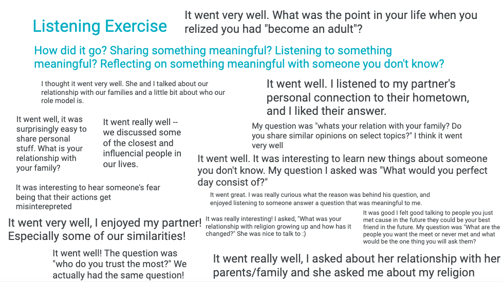 Screenshot of jamboard activity; lots of text covers the slide, see blog post for context
